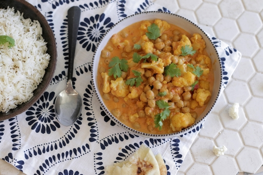 Curried Cauliflower Stew