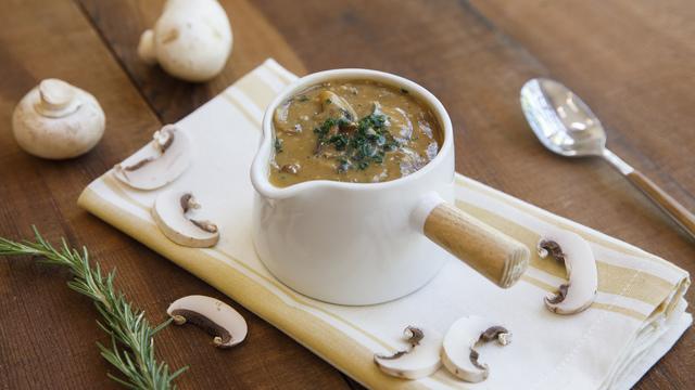 Mushroom Pan Gravy