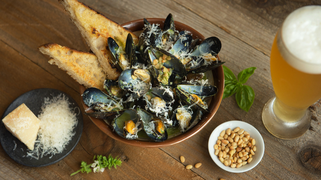 Mussels Pistou