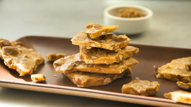 Salted Almond Brittle