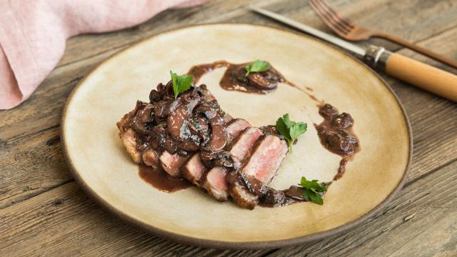 Pan Seared New York Strip Steak