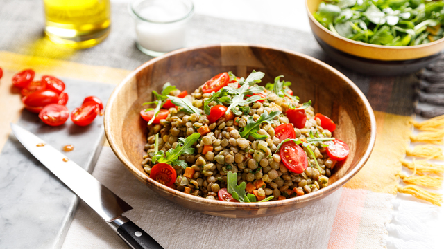 Light Lentil Salad