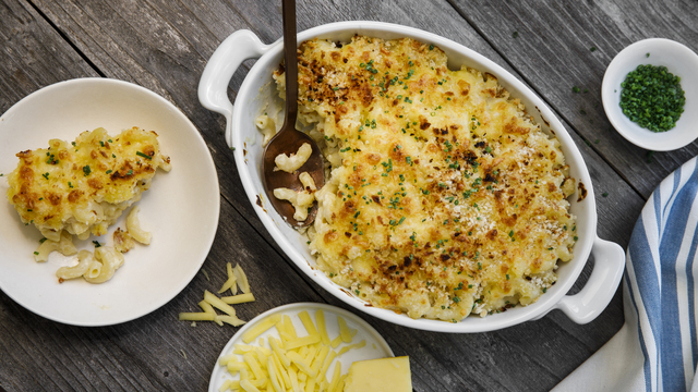 Creamy Cabot Mac and Cheese
