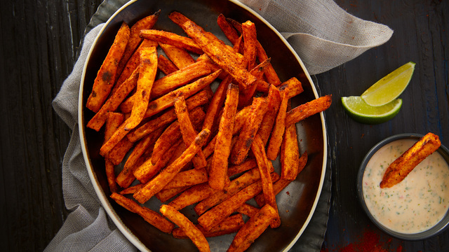 Chili Spiced Sweet Potato Fries