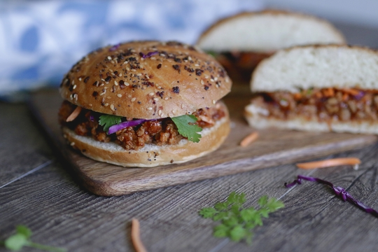 Asian Inspired Sloppy Joe Filling