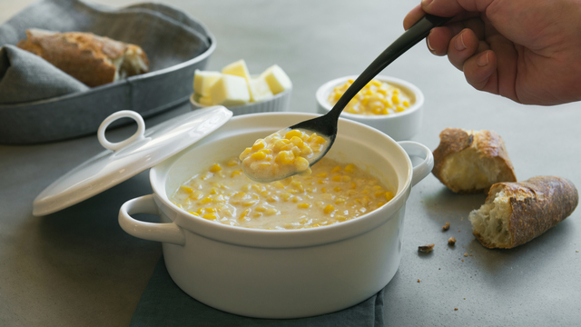 Brown Butter Creamed Corn